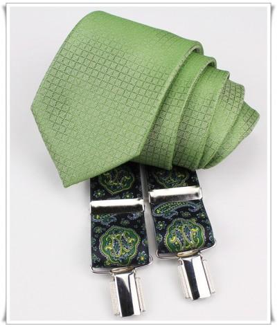 Verde a Cuadritos con Tirante Cashmere