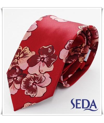 Rojo con Flores