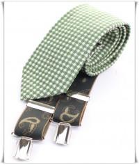Vichy Verde con Tirante Paisley