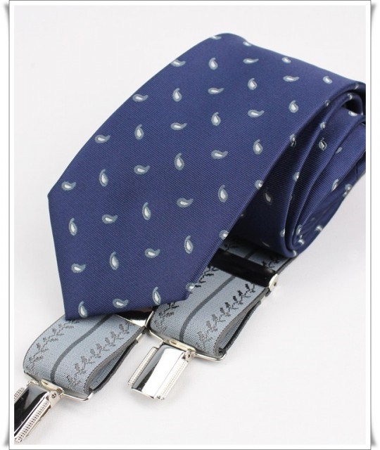 Azul Cashmere y Tirante Perla