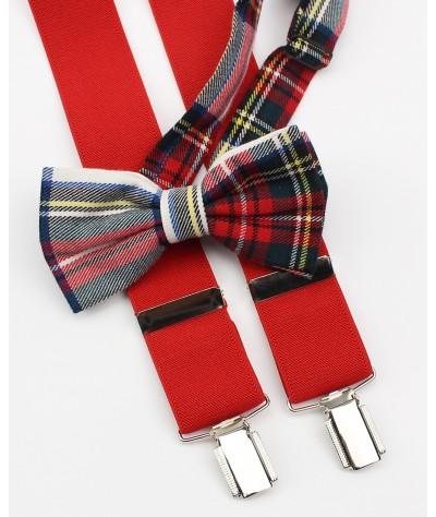 Rojo con Escoces