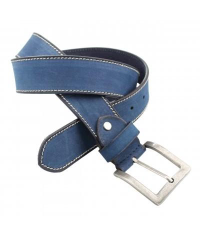 Cinturón Piel Color azul