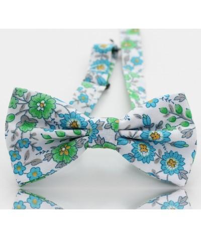 Flores Verdes y Azules
