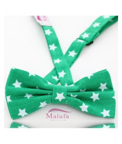 Verde con Estrellas