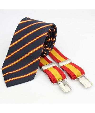 Tirante Bandera con Corbata