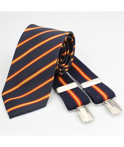 Corbata Bandera+Tirante
