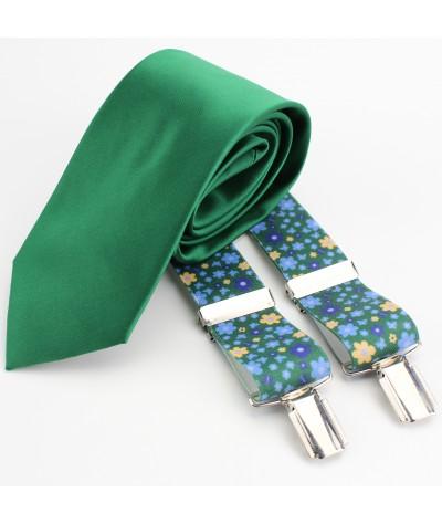 verde floreado